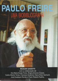 Livro - Paulo Freire Uma Biobibliografia