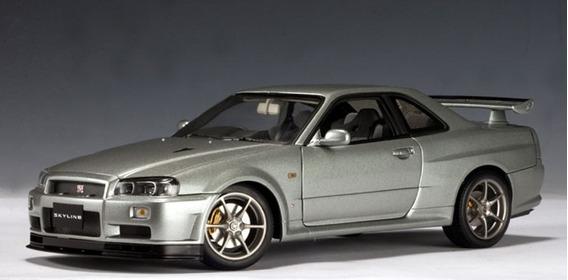 Autoart Nissan Skyline V-specii R34