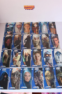 1999 Lote 2 Coleccionadores 90 Ultra Pepsi Cards Star Wars