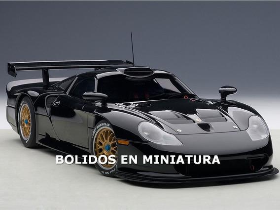 Porsche 911 Gt1 1997 Le Mans - Plain Body - Autoart 1/18