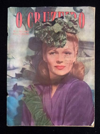 Revista O Cruzeiro 951 Rita Hayworth Propaganda Antiga