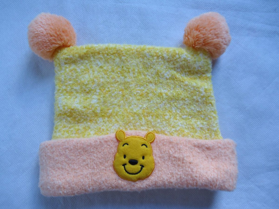 Touca De Inverno Pooh Da Tokyo Disney Infantil