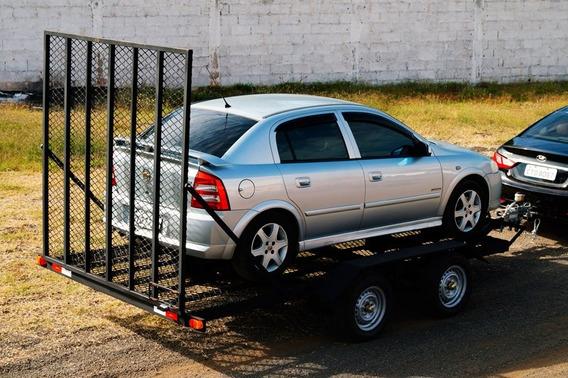 Carreta Transporte Veicular Tablado (bravo Carretas)