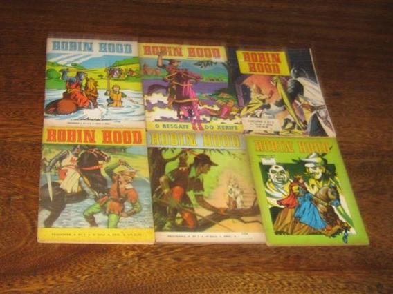 Robin Hood (pequenina) Ns 1 Ao 6 Ano:1981 Ebal Col Completa