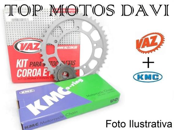 Relação Completa Moto Kawasaki Ninja Zx 10 06/07 Vaz + Kmc