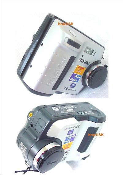 Camera Digital Mavica Sony Fd 200 2.0 Mp 6x Dig Zoom Vd Desc