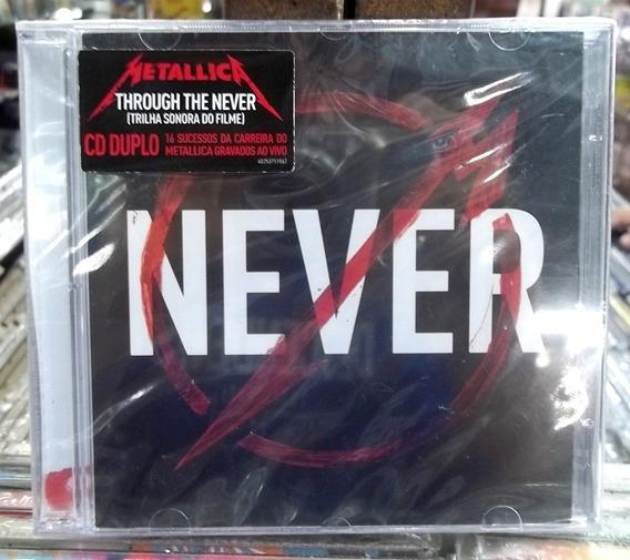 Metallica Through The Never Cd Duplo Lacrado Frete 15,00