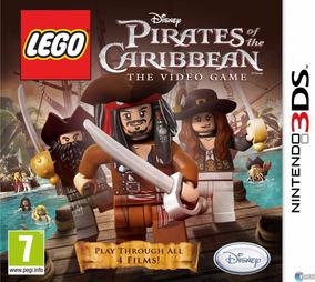 Lego Piratas Do Caribe Pirates Caribbean Nintendo 3ds Novo