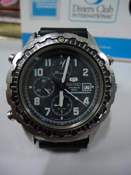 Relogio Seiko Cronometro Decada De 1990