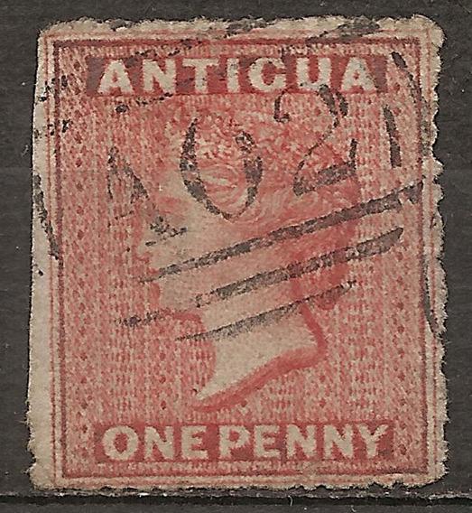 Antigua Colonia Inglesa Yvert 2a Catálogo Año 1863