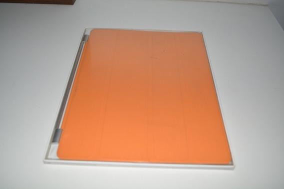 Capa Smart Cover Para iPad 2 Original Apple Laranja Usado