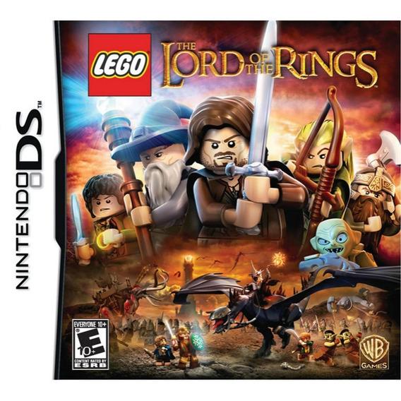 Jogo Novo Lacrado Lego Senhor Dos Anéis Para Nintendo Ds
