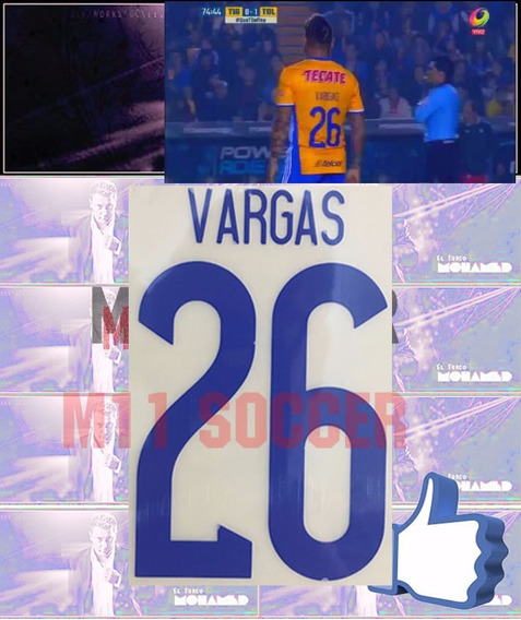 Estampados Tigres 16-17 Local #26 Vargas,