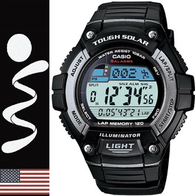 Reloj Casio Ws-220 Carreras Tough Solar 100% Originales