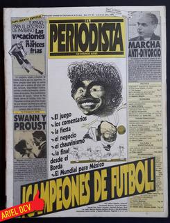 [el Periodista] N°95 | Jul86 | Mundial México 86/proust