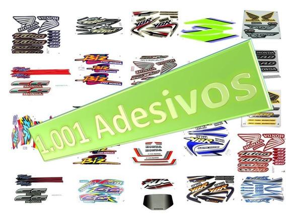 Adesivo Fan125 05 Azul Js
