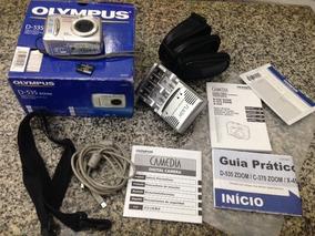 Câmera Olympus D-535 3.2 Megapixel Com Acessórios