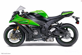 Adesivo Kawasaki Zx10r 2014 Genuine Parts Zx10 Ninja