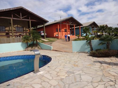 Imagem 1 de 14 de Casa Campo Atibaia Condominio Fechado 2 Dorms Piscina Quinta
