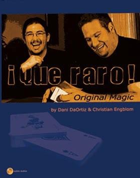 Imagen 1 de 1 de Qué Raro Por Dani Daortiz Y Christian Englbom (dvd) Magia!