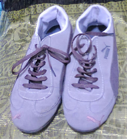 Zapatillas De Dama Usadas