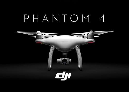 Drone Dji Phantom 4 Com 01 Bateria Extra Pronta Entrega
