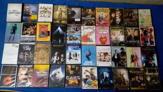 Cd Dvds Rock Mpb Pop & Filmes Nacionais E Internacionais
