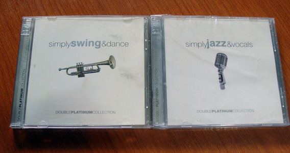 Jazz Sinply & Vocal Swing Simply & Dance Lote 2 Cd Dobles