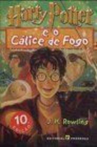 Livro Harry Potter E O Calice De Fogo J. K. Rowling