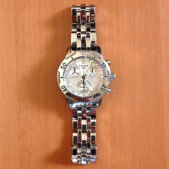Tissot Prs200 T362/462k Men´s Silver Dial Chronograph