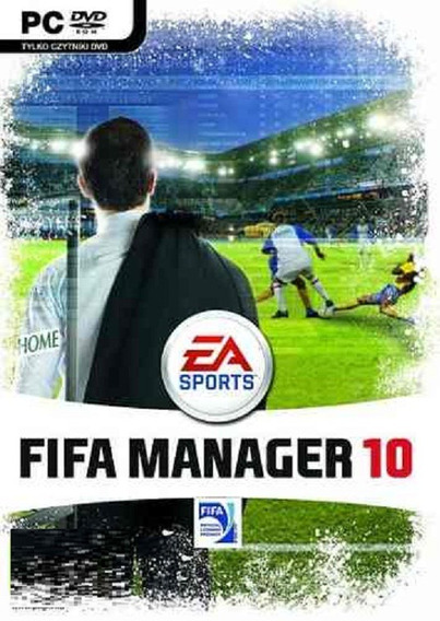 Game Pc Dvd - Jogo Fifa Manager 10 Ae Esportes - Original