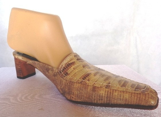 Zapatos Sin Talon Marca Prego Nro 36 Cuero Vibora
