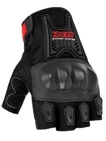Luva Motociclista X11 Blackout Com Proteção Hornet Srad Cbr