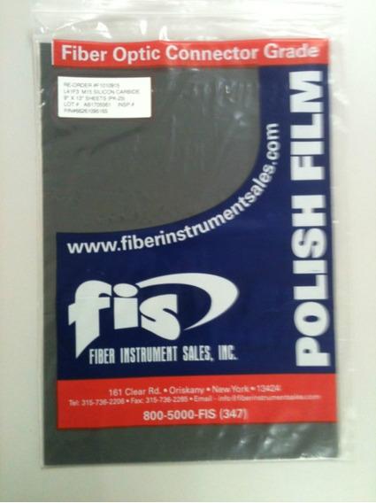 Lixa Para Polimento De Fibra Óptica - 5.0 Micron