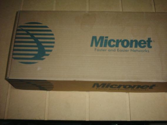 Swicht Micronet De 24 Puertos