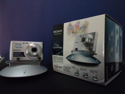 Camera Portatil Sony W515ps