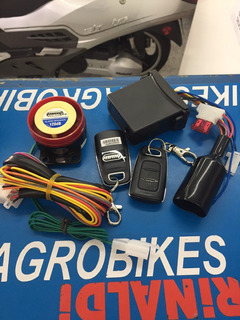 Alarma Moto Mmg Pro P/ Motomel Original En Agrobikes