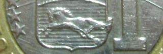 Moneda De 1 Bolívar De 2009 Con Error Bs. 1.350.000.-