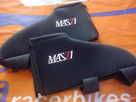 Botitas Cubre Zapatillas Termicas Abrigo Ciclismo Bicicleta Mazzi T1 - Racer Bikes