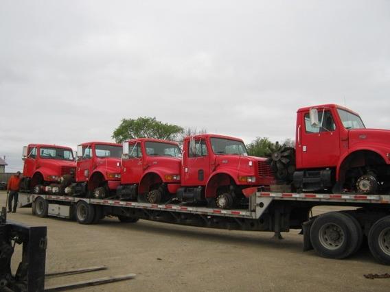 Cabina International 4700 Y Motor Navistar Mecanico Ngd