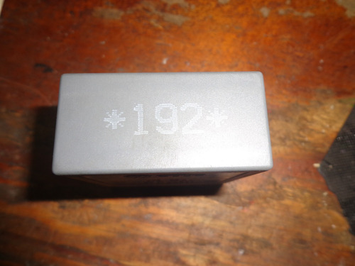 Vendo Relay De Audi # 192 1 Jo 955 531