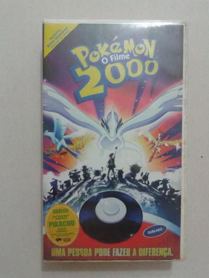 Filme Vhs Pokémon 2000