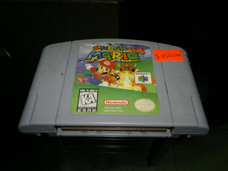 Super Mario 64 Para Nintendo 64,excelente Titulo