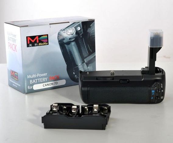 Grip Bateria Para Canon Eos 7d Bp-e7 (bg-e7) Meike