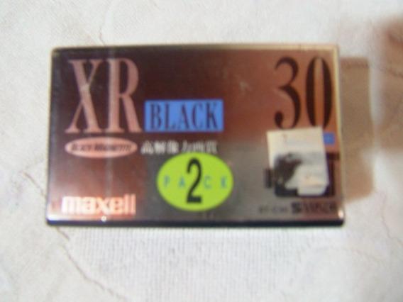 Fita Para Filmadora Vhs Xr-30 Black Maxell 8mm Japan