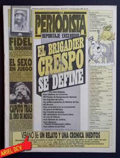[el Periodista] N°71 | Ene86 | Brigadier Crespo/fidel/caputo