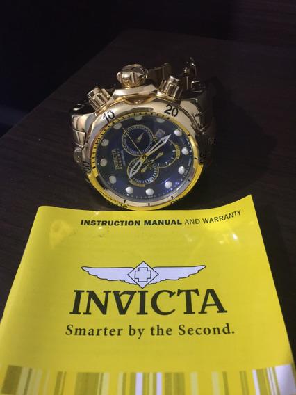 Relógio Invicta Reserve - Ouro 18k