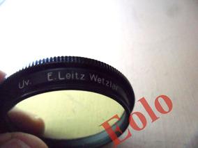 Leica, Leitz - Filtro Uv 36mm - Original- Está Amarelado