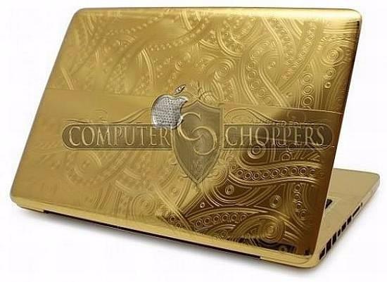 Notbook Dourado