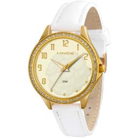 Relógio Lince Lrc4283l C2bx Dourado C/selo Ipi Nf Original
